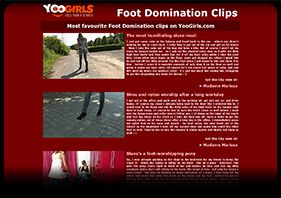 Foot Domination Videos